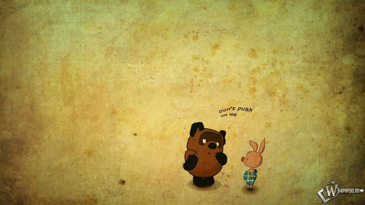 Download mobile wallpaper Funny, Cartoon, Background, Pictures, Winnie the Pooh for free.