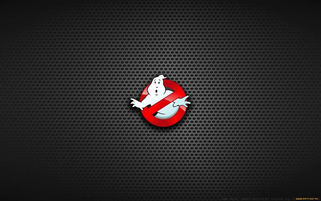 Download mobile wallpaper Cinema, Background, Logos, Ghostbusters for free.