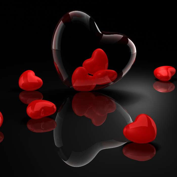Download mobile wallpaper Background, Hearts, Love for free.