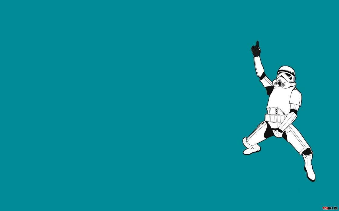 Download mobile wallpaper Funny, Background, Star wars for free.