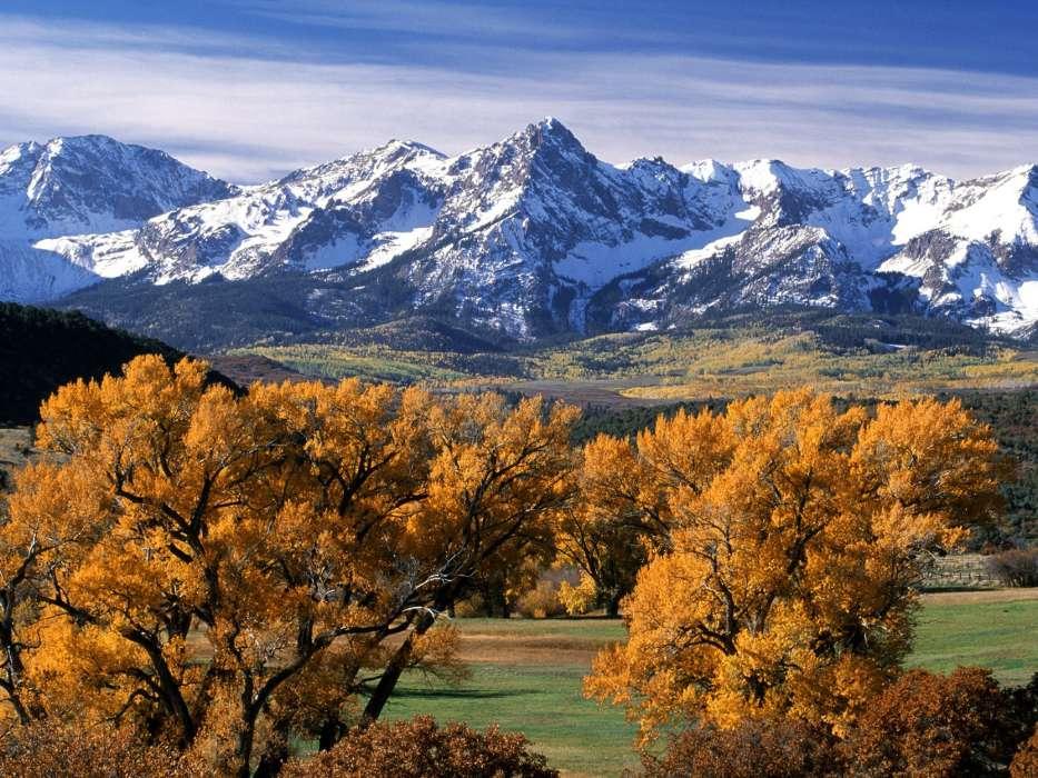 Гифки с осенью в горах