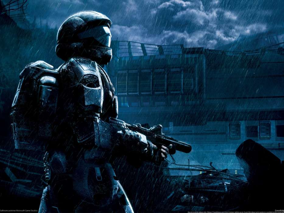 Download mobile wallpaper Games, Halo for free.