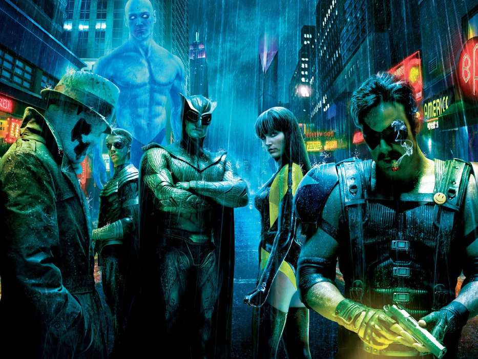 Download mobile wallpaper Cinema, Watchmen for free.