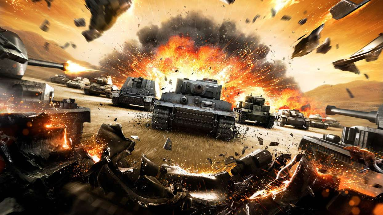 Download mobile wallpaper Games, World of Tanks for free.