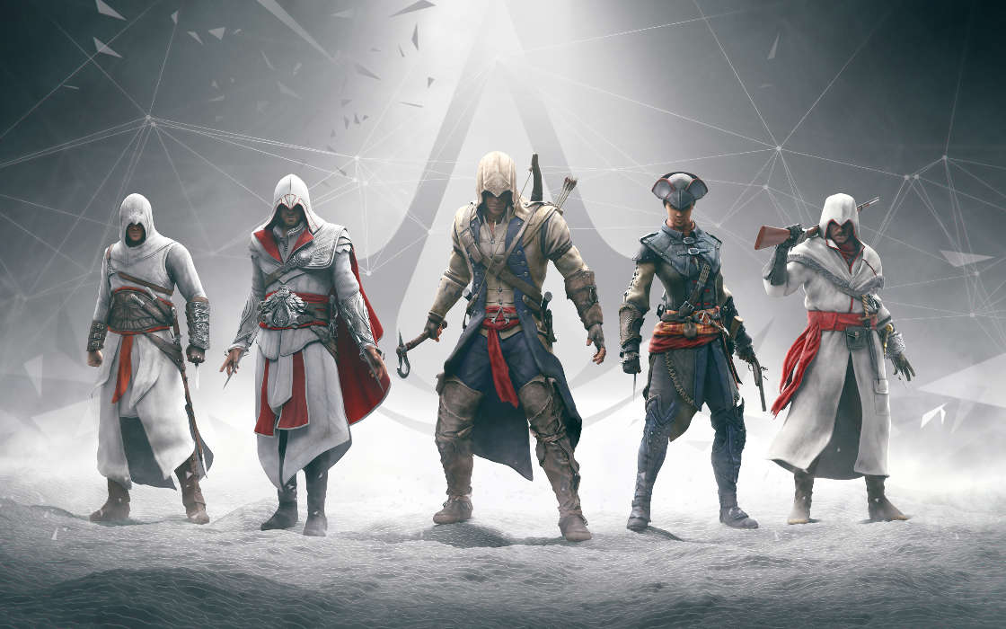 Download mobile wallpaper Games, Assassin's Creed for free.