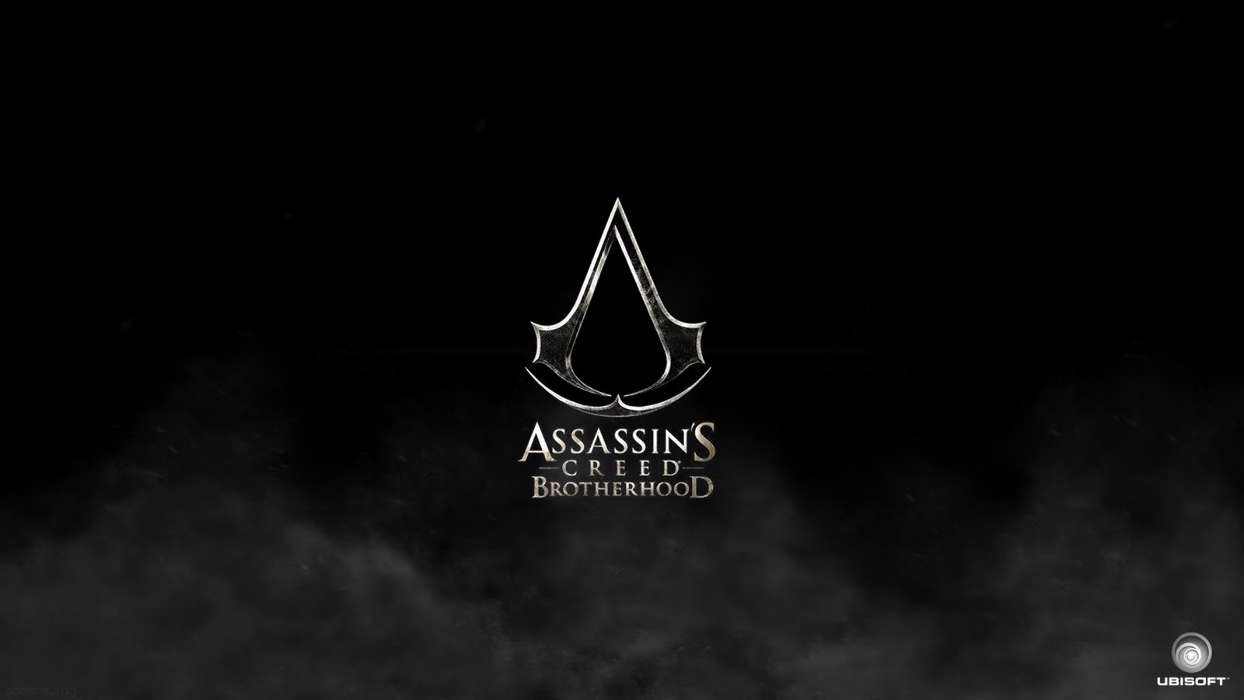 Download mobile wallpaper Games, Logos, Assassin's Creed for free.