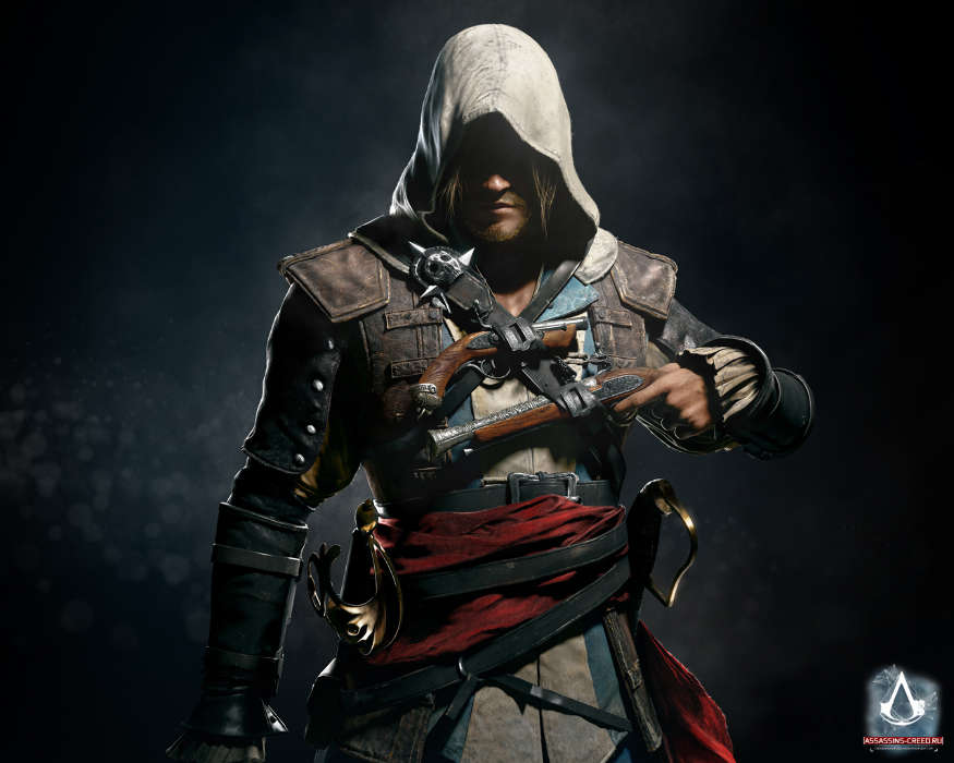 Download mobile wallpaper Games, Men, Assassin's Creed for free.