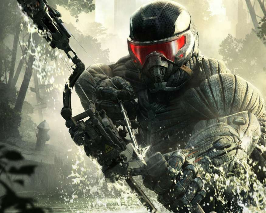 Download mobile wallpaper Games, Crysis for free.