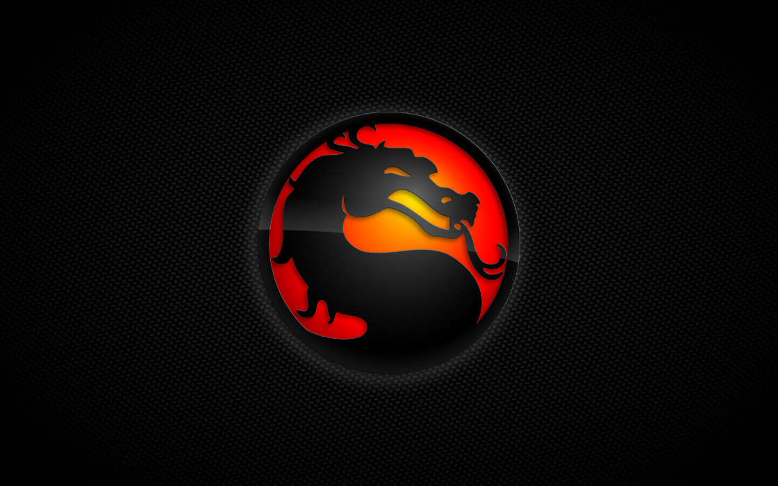 Download mobile wallpaper Games, Logos, Mortal Kombat for free.