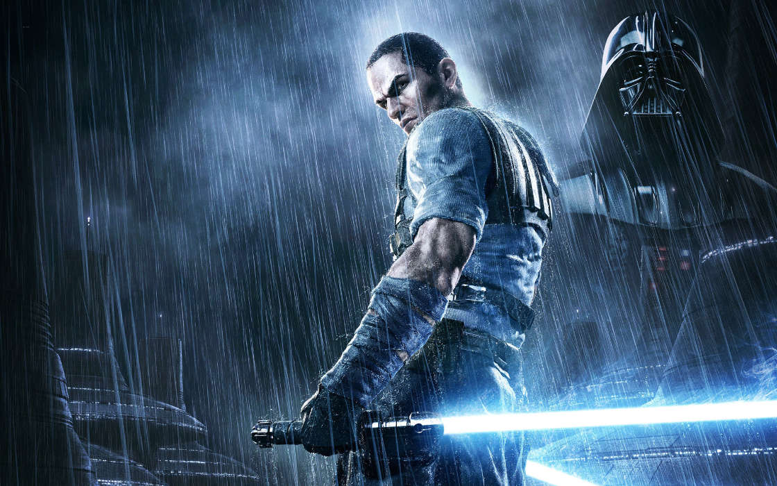 Download mobile wallpaper Games, People, Men, Star wars for free.