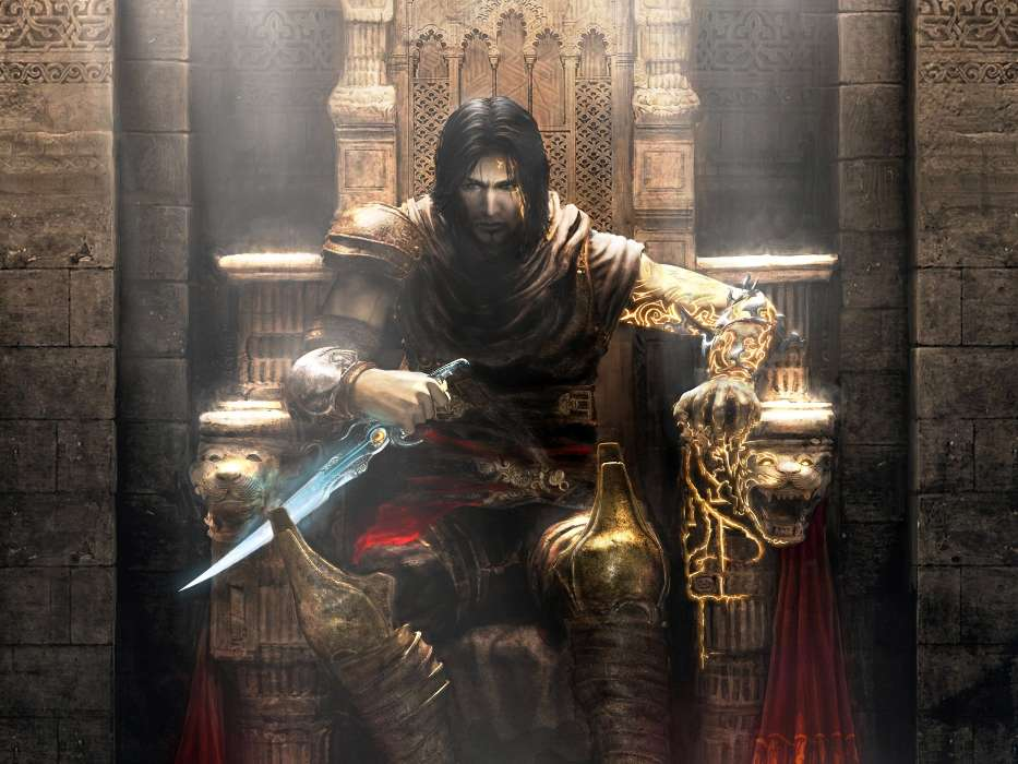 Download mobile wallpaper Games, Men, Prince of Persia for free.