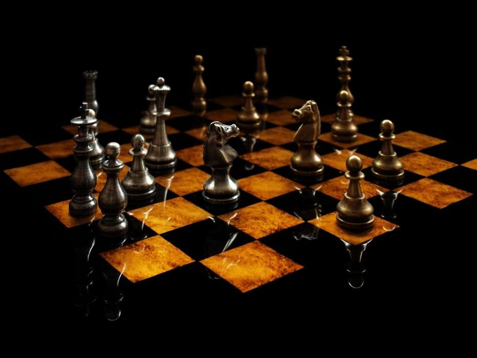 Download mobile wallpaper Games, Chess, Objects for free.