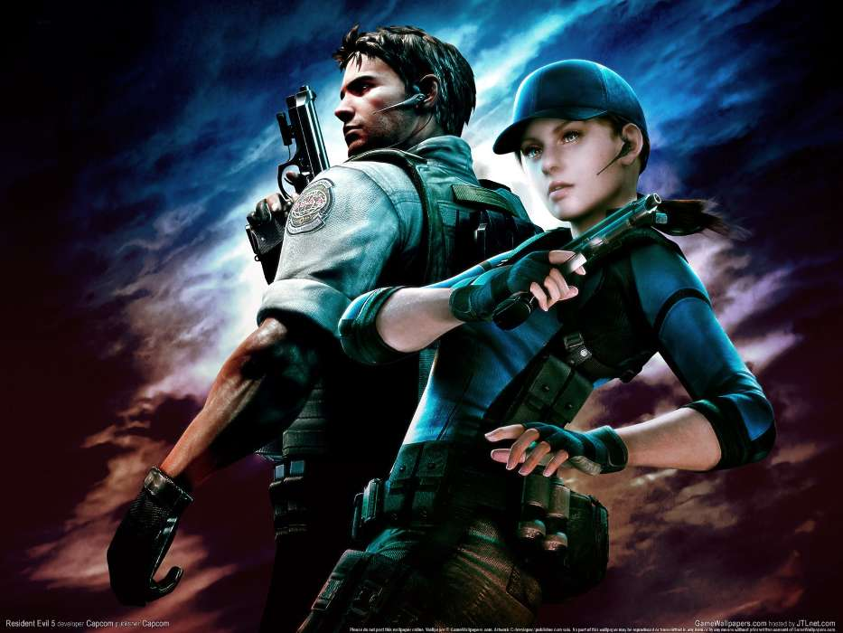 Download mobile wallpaper Games, Resident Evil for free.