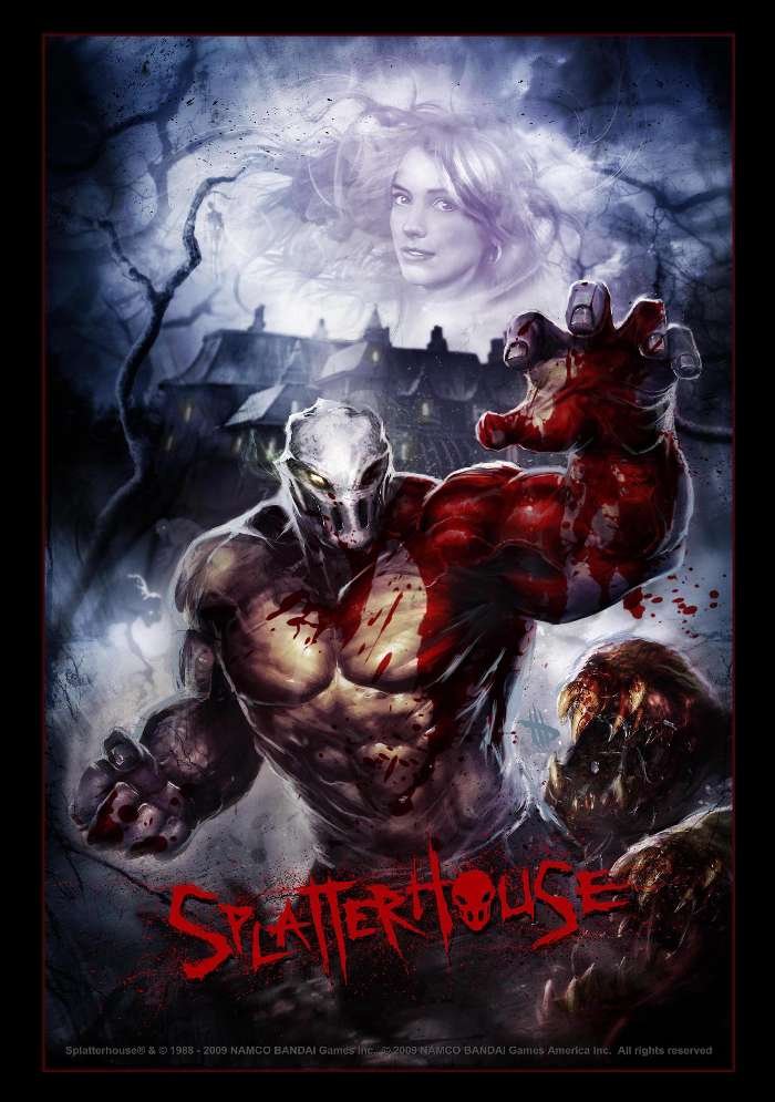 Download mobile wallpaper Games, Splatterhouse for free.