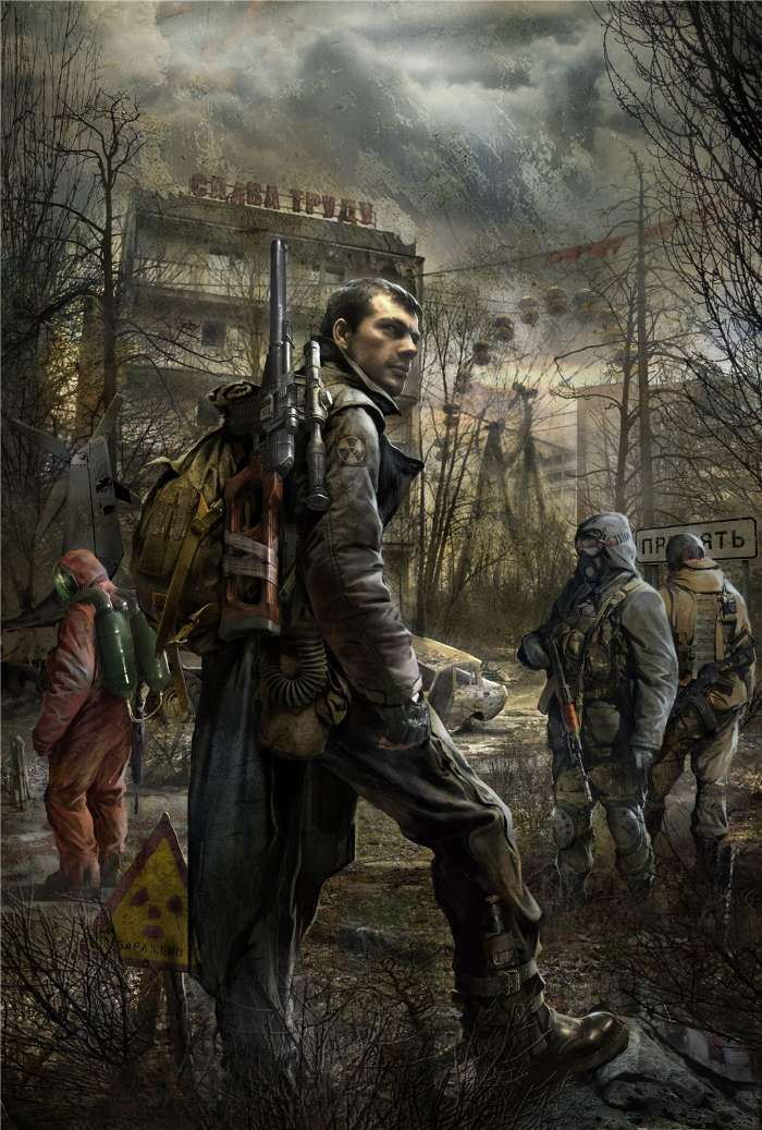 Download mobile wallpaper Games, S.T.A.L.K.E.R. for free.