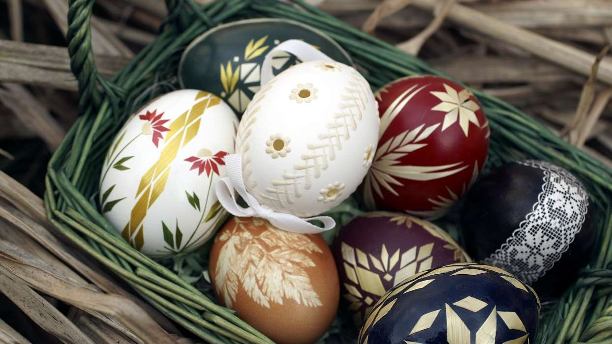 Download mobile wallpaper Holidays, Eggs, Easter for free.