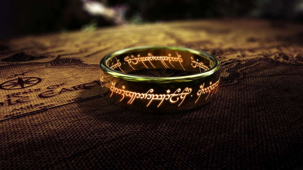 Download mobile wallpaper Cinema, Objects, Rings, Jewelry, The Lord of the Rings for free.