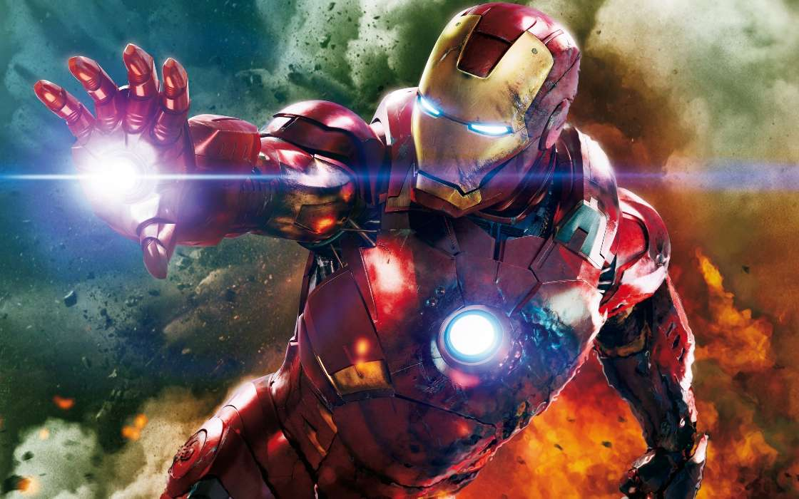 Download mobile wallpaper Cinema, People, Iron Man for free.