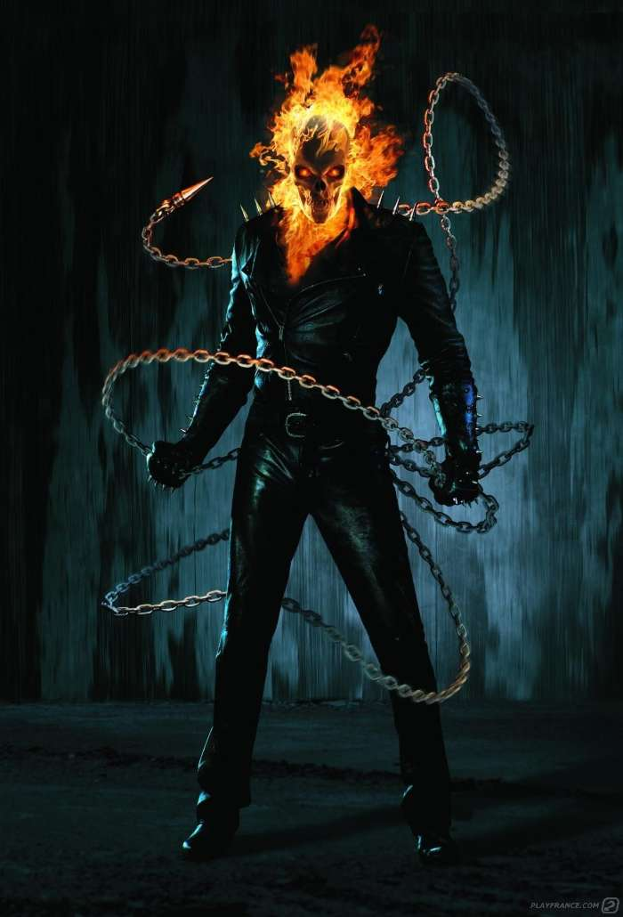 Download mobile wallpaper Cinema, Ghost Rider for free.