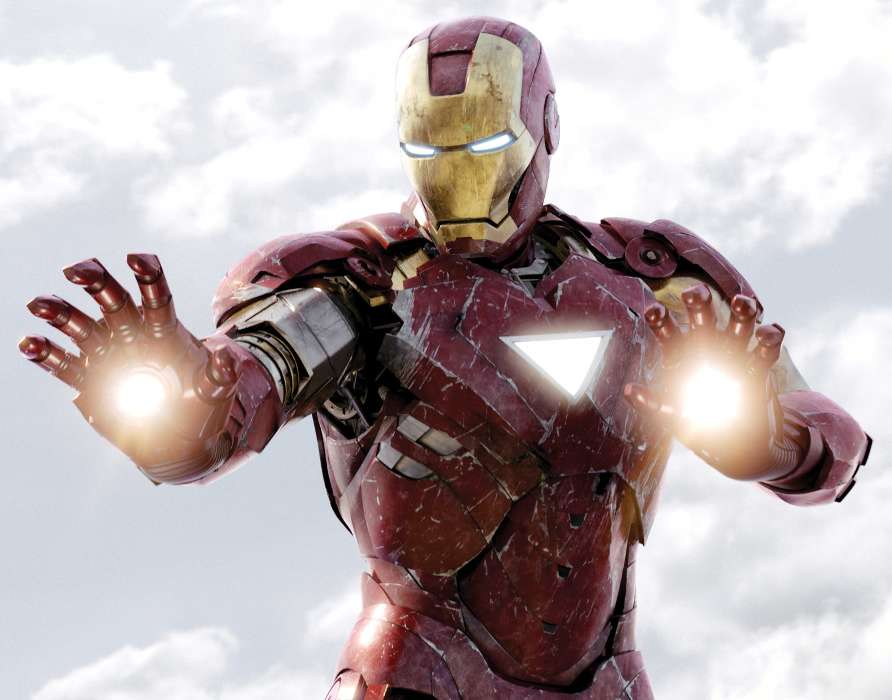 Download mobile wallpaper Cinema, Iron Man for free.