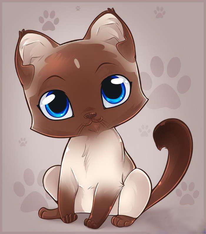 ноуте картинки с котами и кошками мультяшными модельным