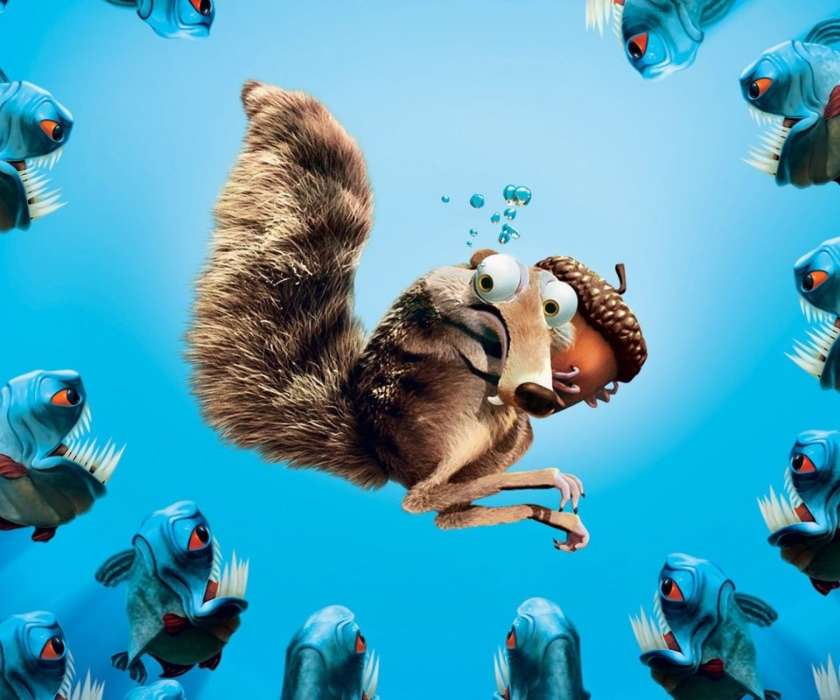 Download mobile wallpaper Cartoon, Scrat, Ice Age for free.