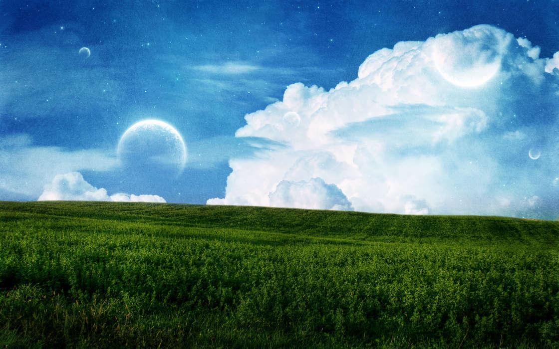 своего картинки три неба над землей если