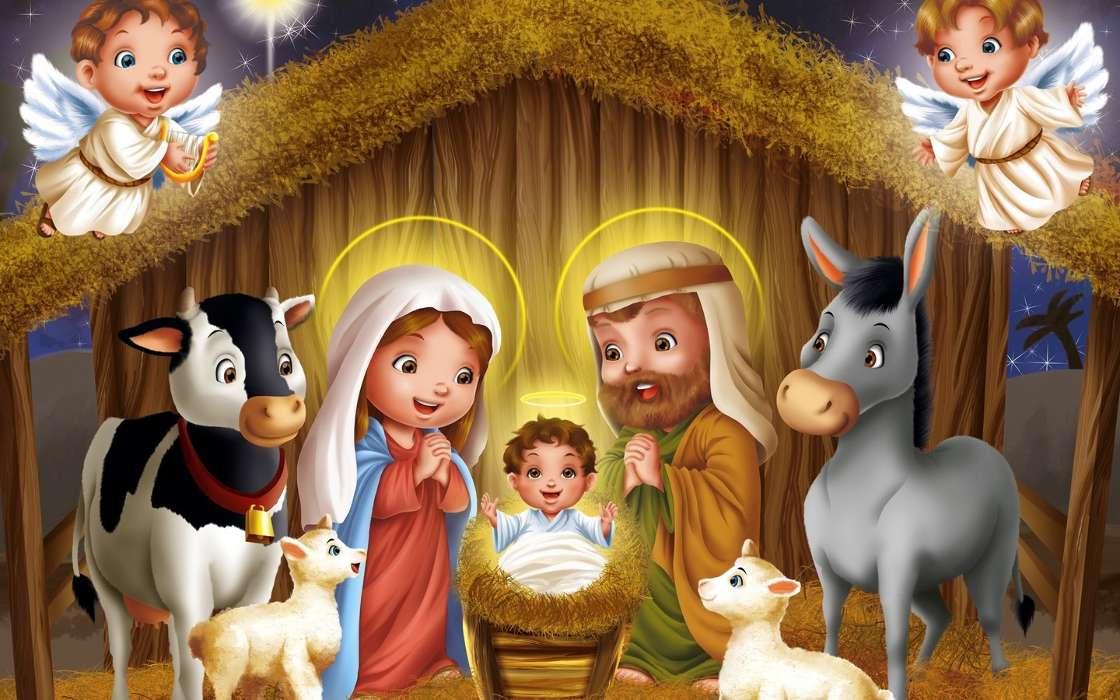 Рождественские картинки детям, спасибо благодарю