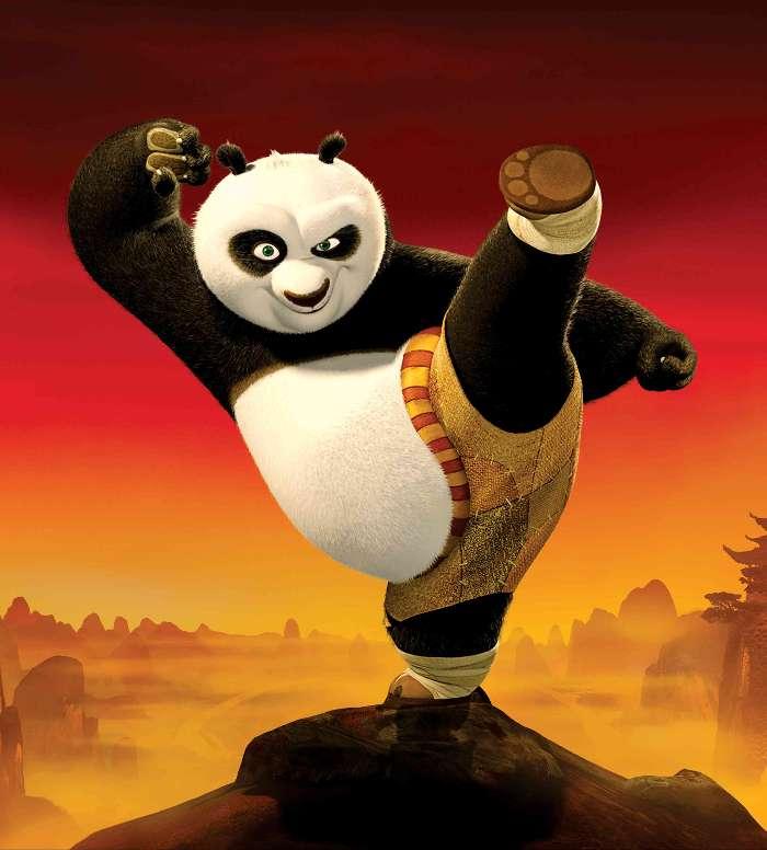 descargar la imagen en teléfono dibujos animados kung fu panda