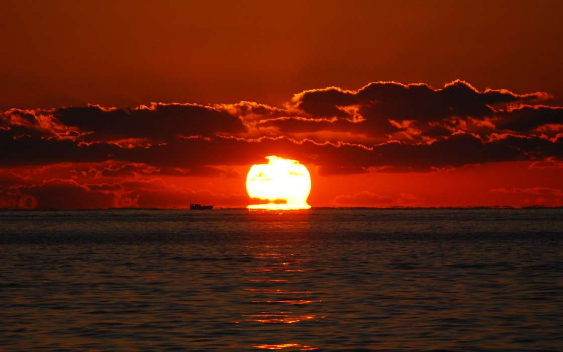 Baixar a imagem para telefone  Paisagem, Água, Pôr do sol, Céu, Mar ... d32b8238ea