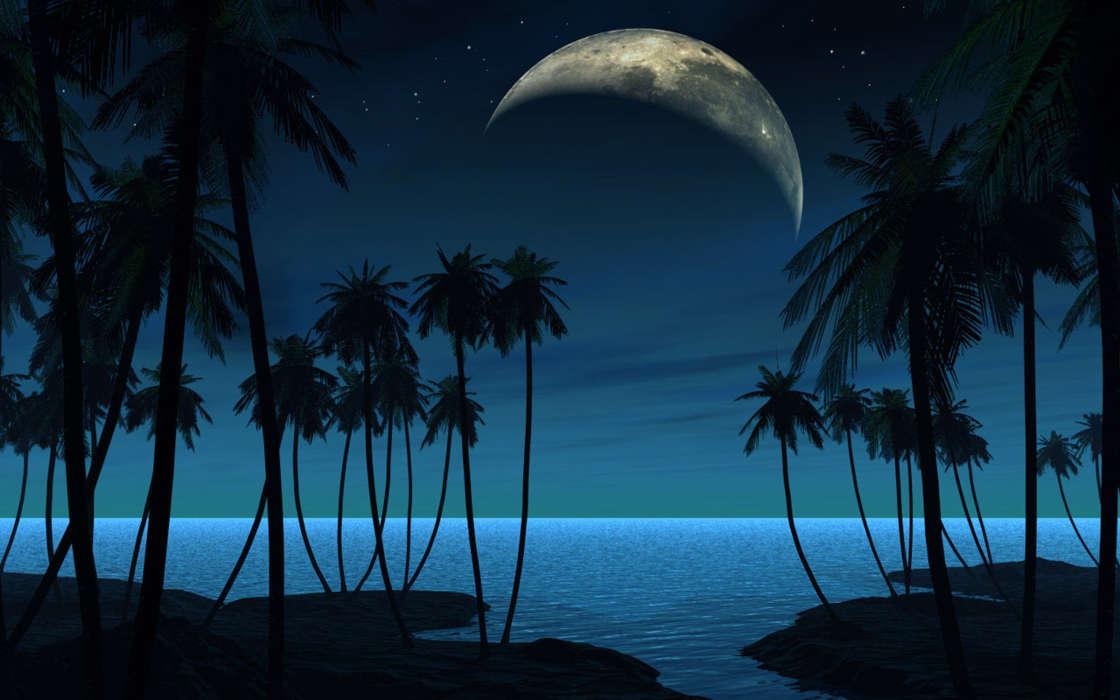 Спокойной ночи на море картинки красивые