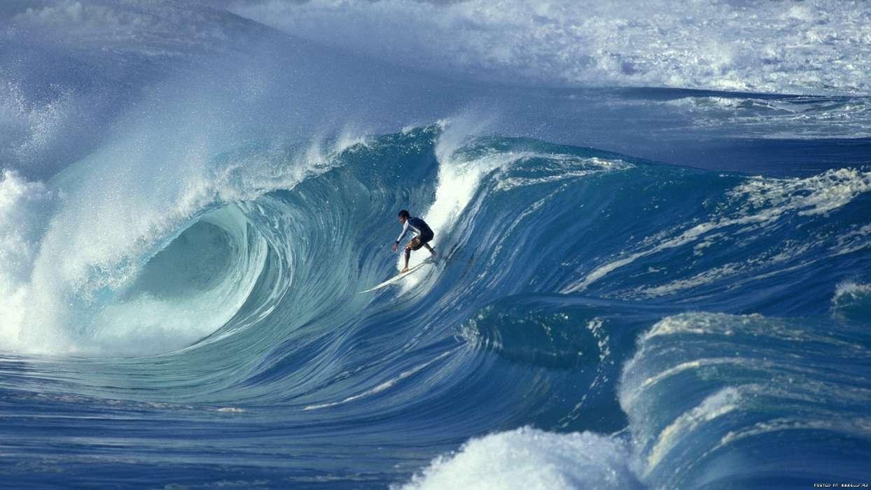 イメージを携帯電話にダウンロード スポーツ 風景 海 波