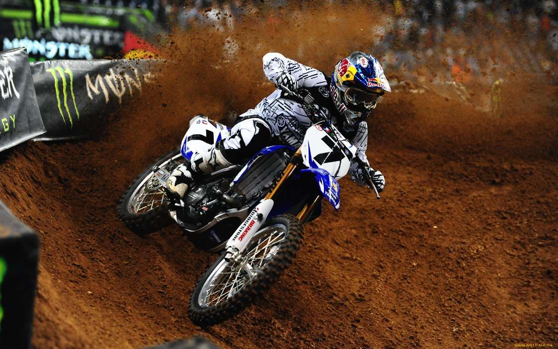 Download mobile wallpaper Sports, Transport, Motorcycles, Motocross for free.