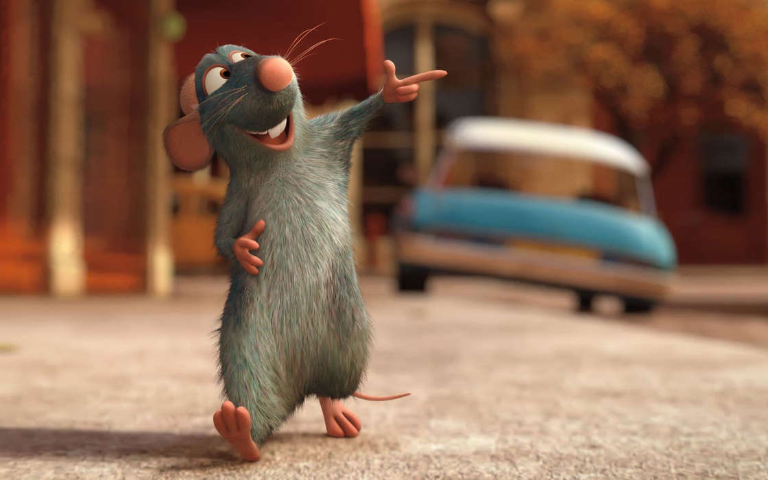 Download mobile wallpaper Cartoon, Mice, Ratatouille for free.