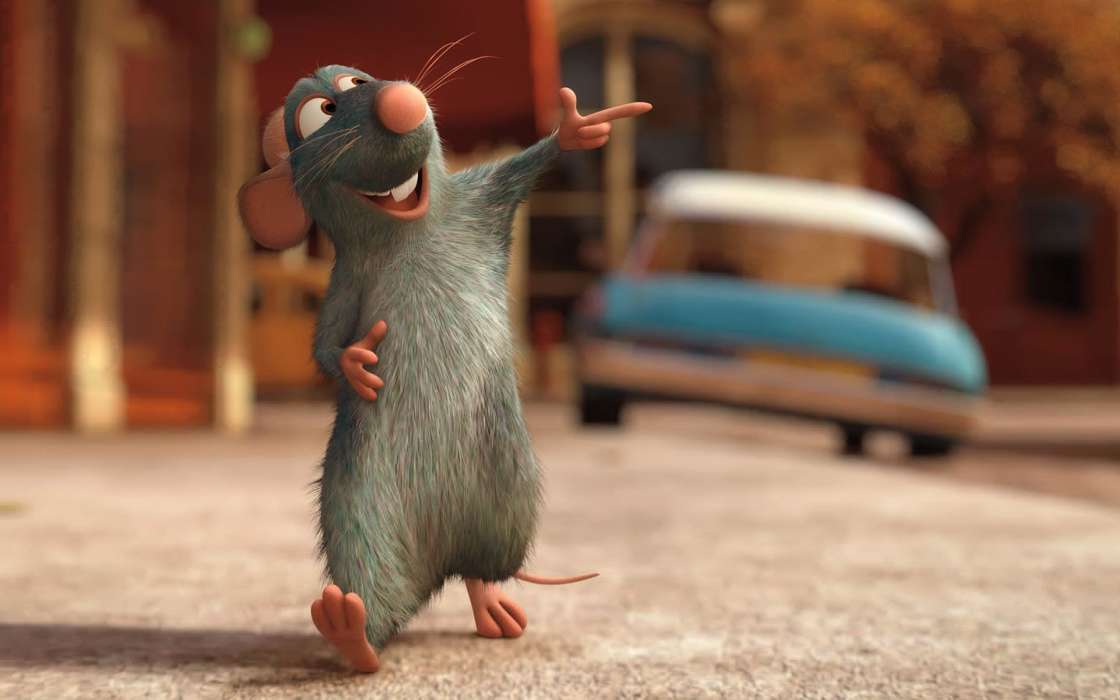 Handy-Wallpaper Cartoon, Ratatouille kostenlos herunterladen.