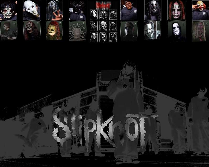 Download Mobile Wallpaper Music Slipknot Free 8762