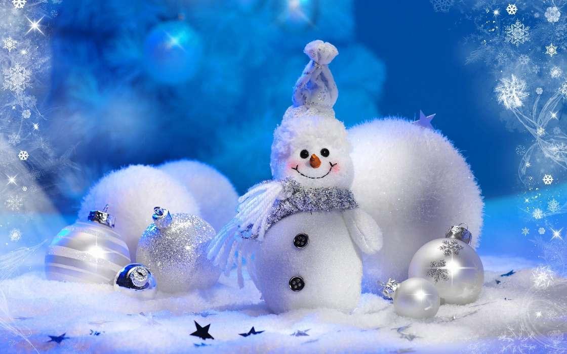 Download Bilder Für Das Handy Feiertage Neujahr Schneemann