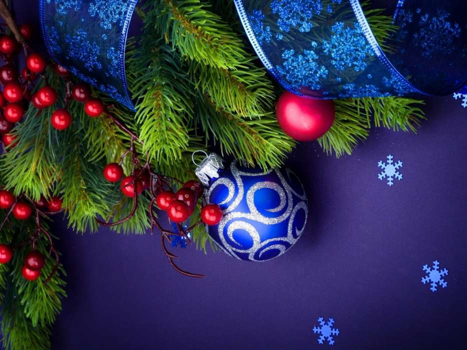 Download mobile wallpaper Holidays, New Year, Objects for free.