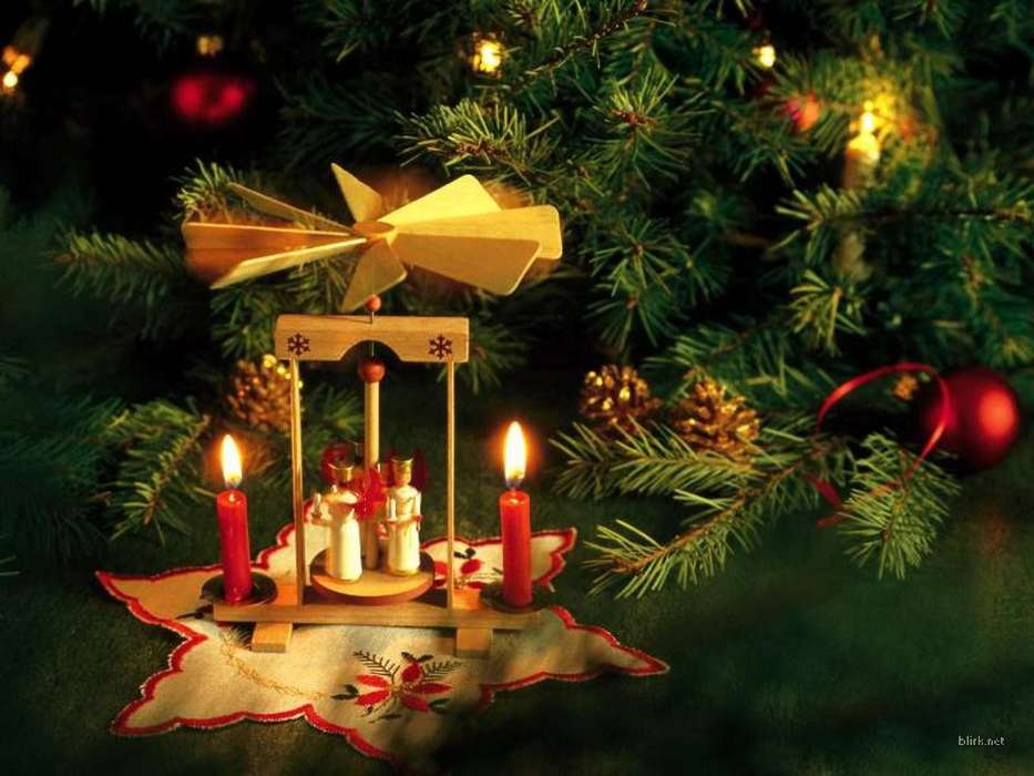 Download mobile wallpaper Holidays, New Year, Christmas, Xmas, Candles for free.