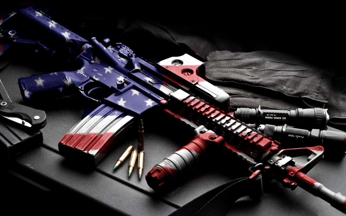 Download mobile wallpaper Objects, Weapon, USA for free.