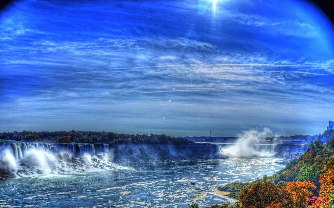 картинки на телефон водопады движущиеся море мне вовсе