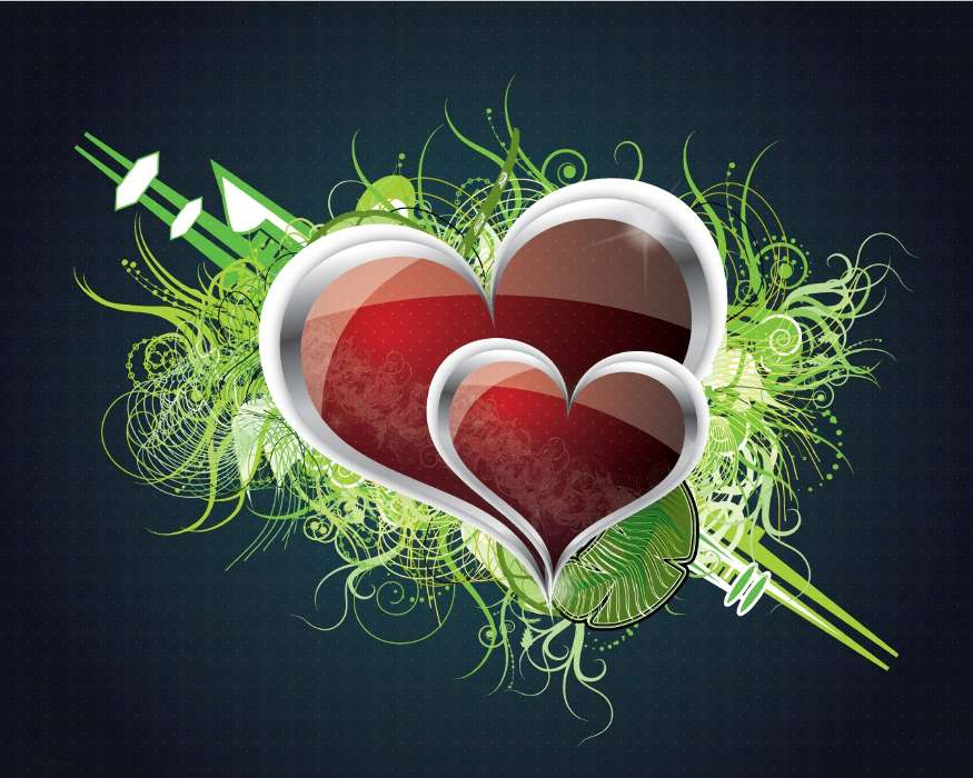 Download mobile wallpaper Hearts, Love, Valentine's day, Pictures for free.