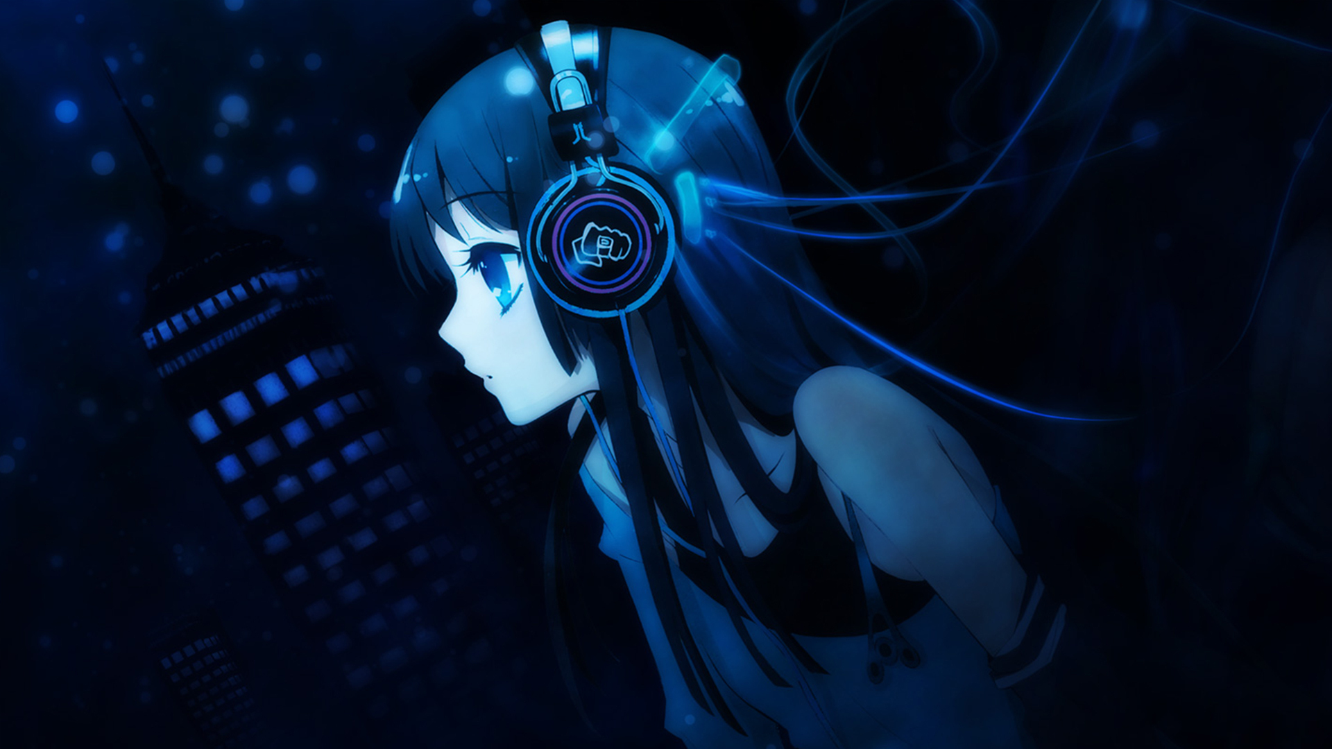 Download mobile wallpaper Music, Anime, Girls for free.