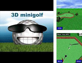 In addition to the sis game Megaman Zero 2 for Symbian phones, you can also download 3D Minigolf for free.