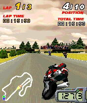 Play 3D Moto Racer for Symbian. Download top sis games for free.