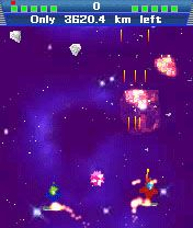 A Bad Day in Space - Symbian game screenshots. Gameplay A Bad Day in Space.