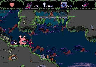 Aaahh!!! Echte Monster - Symbian-Spiel Screenshots. Spielszene Aaahh!!! Real monsters.