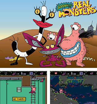 In addition to the sis game Speedtap50 for Symbian phones, you can also download Aaahh!!! Real monsters for free.
