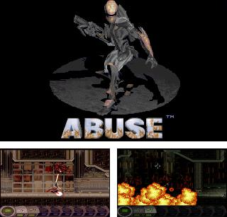In addition to the sis game Raging Thunder 2 for Symbian phones, you can also download Abuse for free.