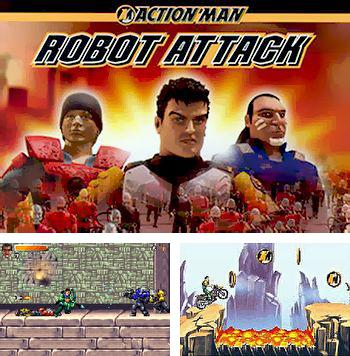 In addition to the sis game Beach Volleyball: Venice for Symbian phones, you can also download Action man: Robot attack for free.